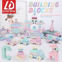 Nuevo Duplo Compatible con las principales marcas de paja de trigo constructor ladrillos ilumine juguetes para los niños