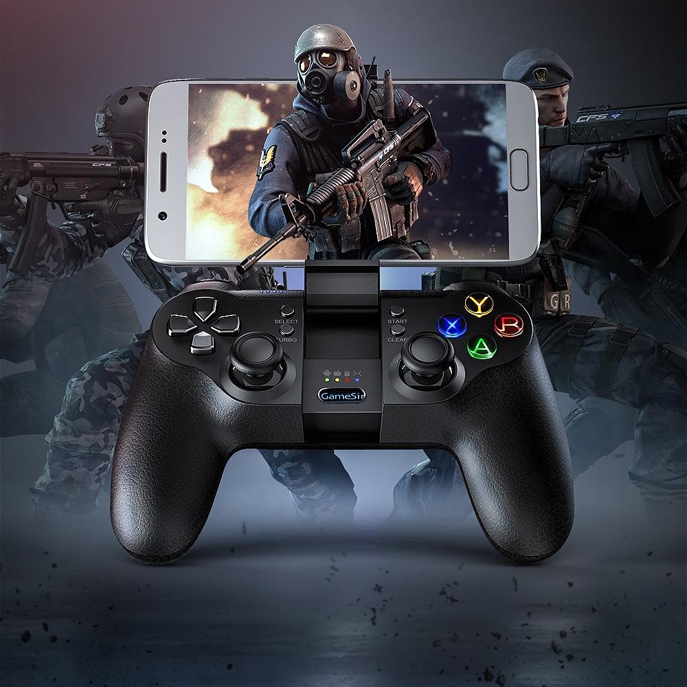 GameSir T1s Bluetooth Sans Fil Contrôleur de Jeu Gamepad pour Android/Windows/VR/TV Box/PS3
