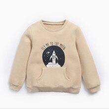 Детская одежда; детская блузка с принтом «Ракета»; теплая одежда на осень и зиму; детская утепленная рубашка