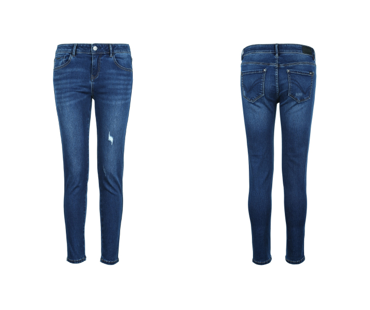 ONLY19 Women's autumn new low waist skinny cropped jeans | 118349574 21
