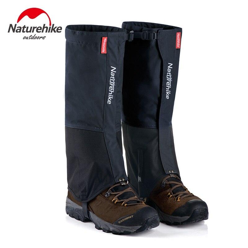 Naturehike Hiking Gaiters Outdoor Waterproof Walking Mountain Hunting Trekking Desert Snow Legging Gaiters for Men and Women