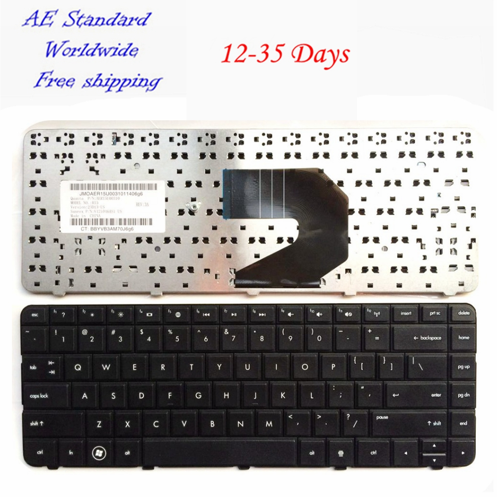 US laptop keyboard FOR HP 250 G1 255 G1 430 431 435 436 450 455 630 631 635 636 650 655 Compaq 435 Compaq 436 English Black New brand new black laptop keyboard 378203 bb1 359087 bb1 for hp compaq nx8220 nc8230 hebrew layout 100
