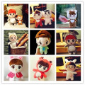 Korea Korean  idol star exo members Plush toy  Luhan Bianbo Xian Zhang Yixing Wu Shixun doll for boy girl gifts free shipping