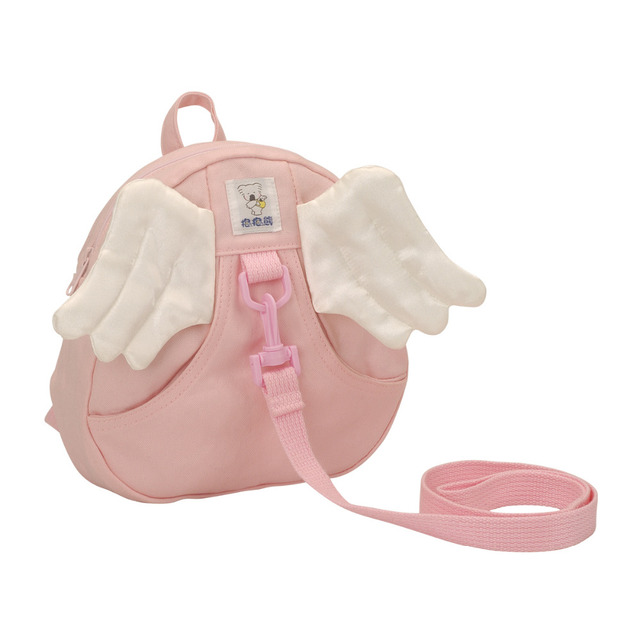 Bebear Baby Harness Kids Keeper Cartoon Backpacks Cute Daysack,Angel's Wing for Children,Strap Bag,Anti-lost Walking Wings