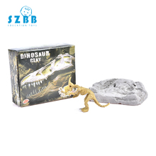 SZ STEAM Classic Children History Educational Small Dinosaur Fossil Excavation Toy Kits Environmentally Friendly Materials