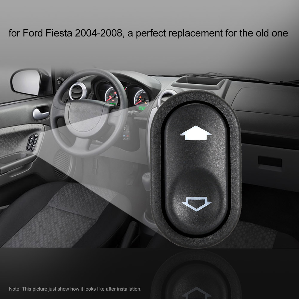 hight resolution of car electric window switch driver side front rear window lifter switch for ford fiesta 2004