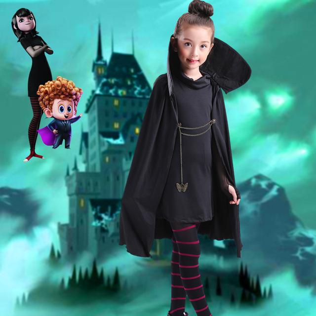 Halloween Cartoon Hotel Transylvania Mavis Costume
