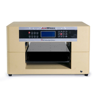 Print both white and color airwren yellow AR LED Mini5 plastic photo frame printing machine uv printer