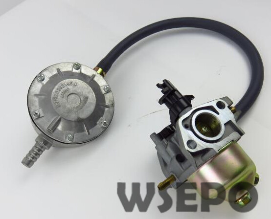 Chongqing Quality! LPG Carburetor Conversion Kit fits 168F/GX160/GX200/170F 2KW~3KW Gas Generator,dual-use Carburetor new design jiwannian lpg&cng carburetor three way conversion kit for gx160 gx200 engine petrol & liquefield dual fuel carburetor page 4