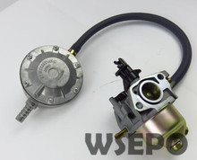 Chongqing Quality! LPG Carburetor Conversion Kit fits 168F/GX160/GX200/170F 2KW~3KW Gas Generator,dual-use Carburetor