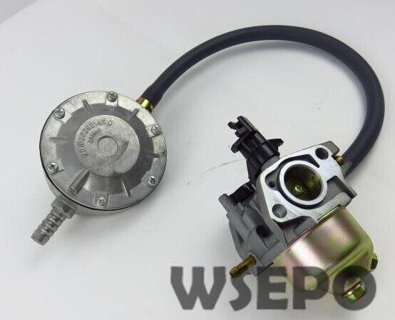 Chongqing Quality! LPG Carburetor Conversion Kit fits 168F/GX160/GX200/170F 2KW~3KW Gas Generator,dual use Carburetor