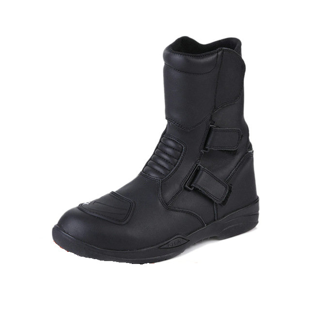 ARCX Motorcycle Boots Genuine Cow Leather Moto Boots Waterproof Motocross Boots font b Men b font