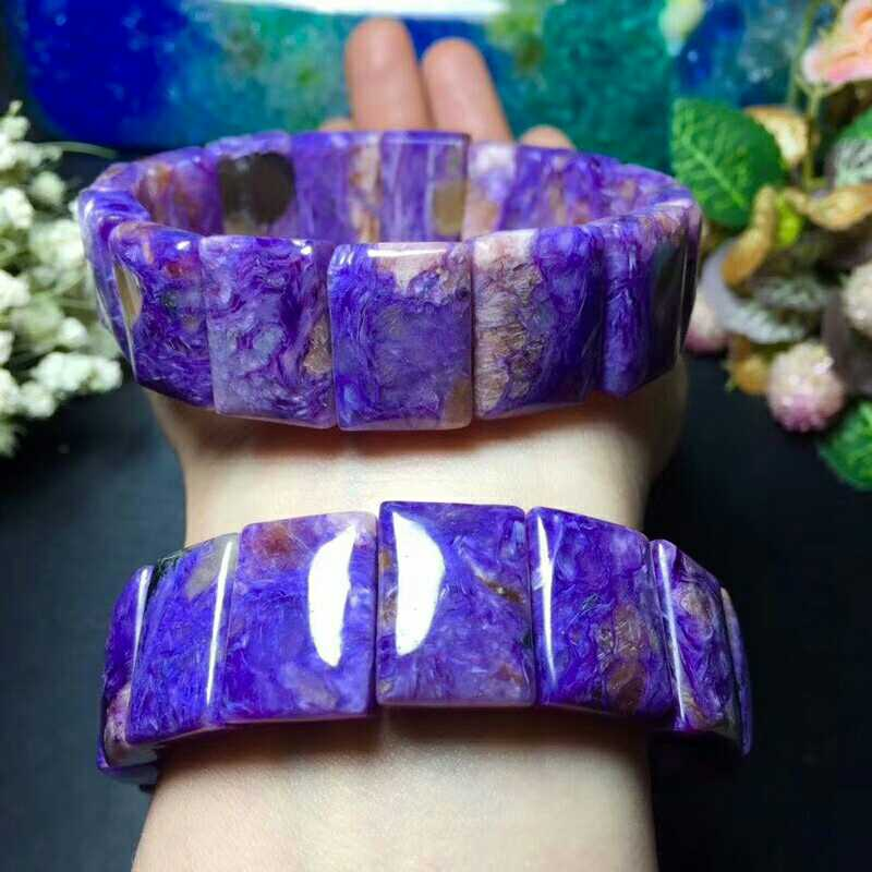 Natural amethyst lavender large particles hand row single ring specifications 18 x 13 mm