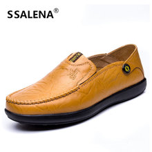 Men Genuine Leather Business Dress Shoes Male Luxury Slip On Breathable Formal Shoes Wedding Basic Oxford Shoes For Men AA20581