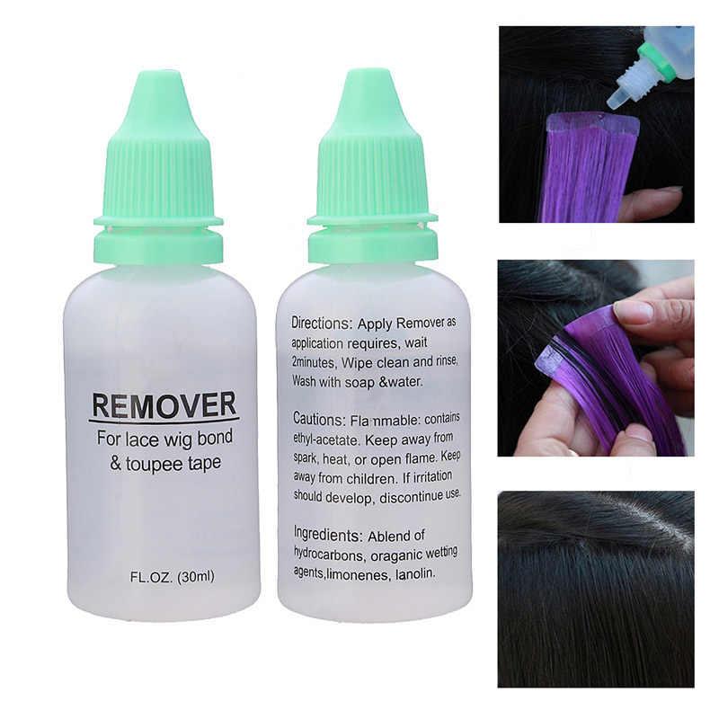 Новый удлинитель для волос 30 мл парики жидкость для удаления клея для кружевного парика релиз ленты инструмент для укладки 2 шт. 88 SK88