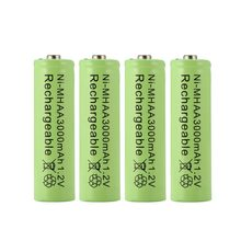4pc a lot Ni-MH 3000mAh AA Batteries 1.2V AA Rechargeable Battery NI-MH Neutral battery for Flashlight/Camera(China)