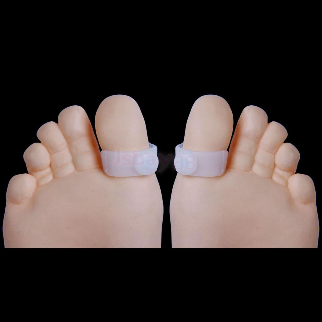 3 Pairs Weight Loss Toe Ring Magnetic Silicone Acupressure ...