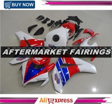 HRC Color Design Fairing Body Kit For Honda CBR1000RR 08-11 2008-2011 With Free Shipping Cost