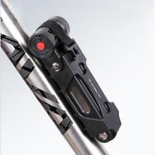 Folding Bicycle Lock Password Lock Security Anti-theft Bike Lock Steel Alloy Steel Anti-Theft Safety Lock Bicycle Accessories