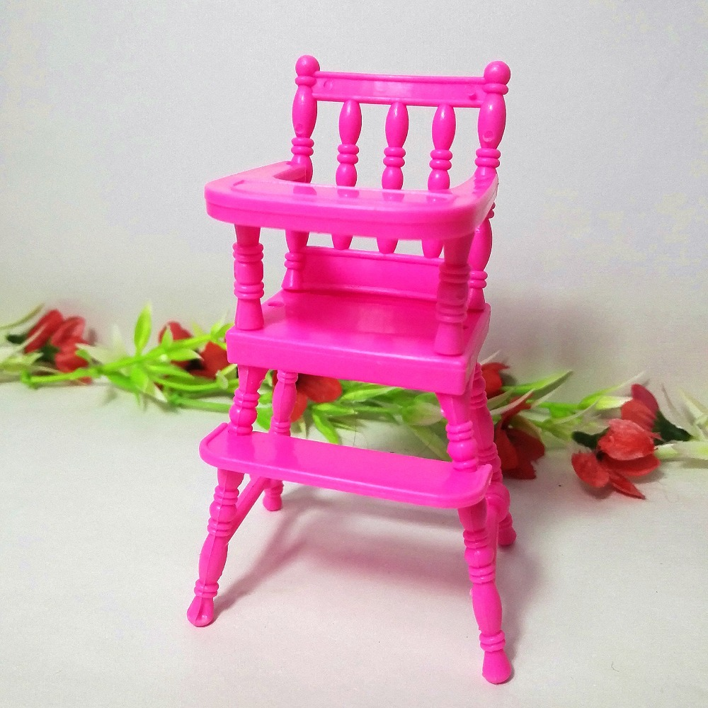 Poupée De Mode Accessoires En Plastique Dinning Chaise pour Kelly - Poupées et accessoires - Photo 2