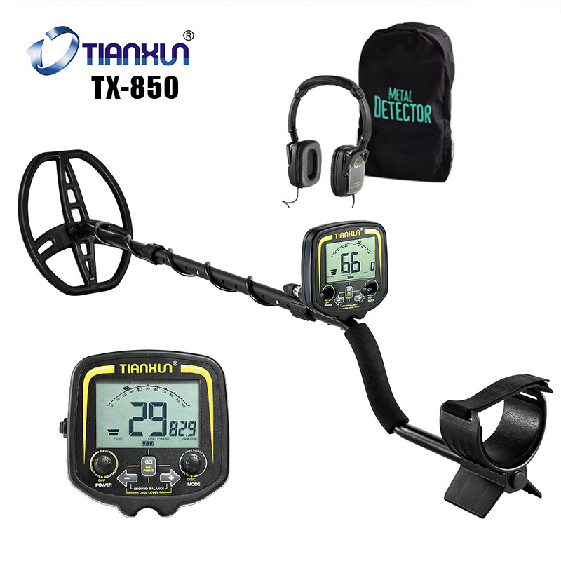 Depth 2 5m Finder Pinpointer Detector Underground Metal Detector TX 850 High Sensitivity Gold Accurate Treasure