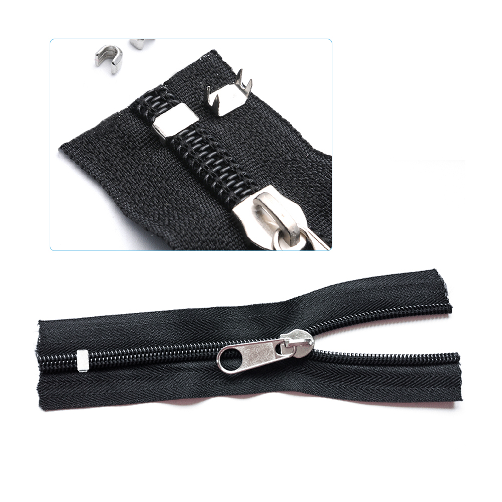 Zipper Fix Kit Universal Zip Repair Rescue Replacement Jacket Clothing Bag Outdoor Tent Fix Instant Plier Sewing Needlework Tool (9)