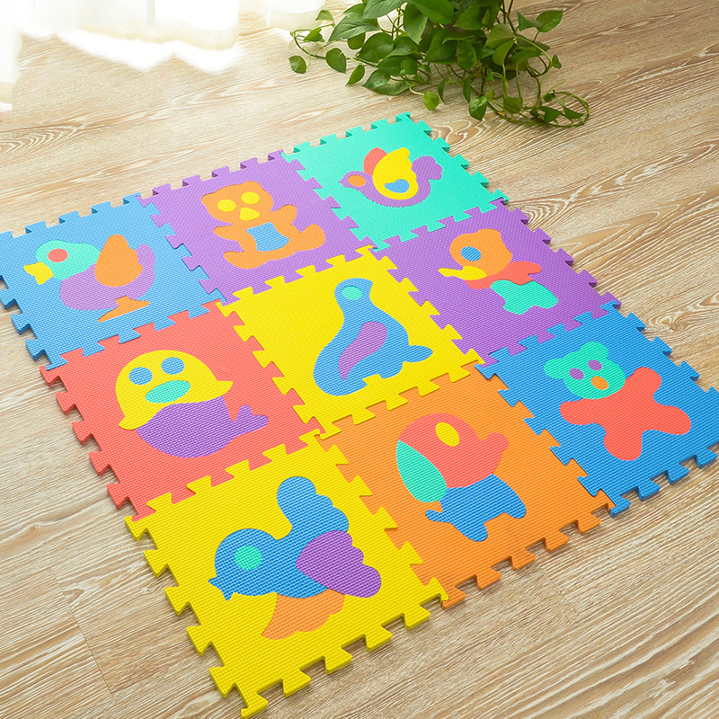 JCC Baby EVA Foam Puzzle Tapis de jeu / Animaux enfant Education - Jouets pour enfants