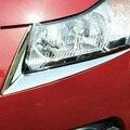 Hot sale! ABS Chrome headlight trim sticker lamp eyebrow headlight cover trim decoration strip for Chevrolet cruze sedan hatchba