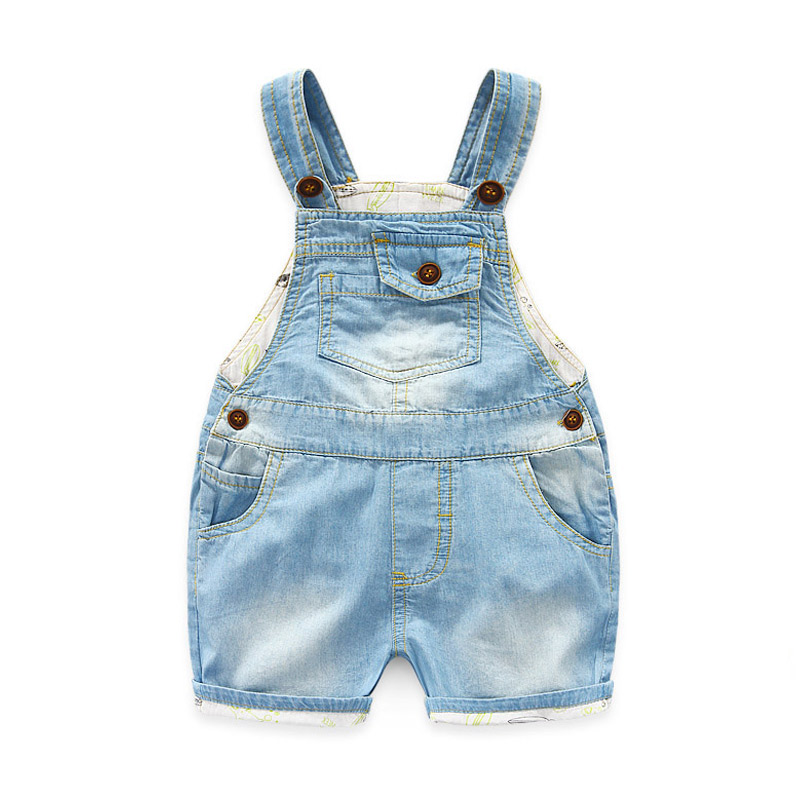 d8960c9bf9c ᗖ Popular baby boy overalls summer denim and get free shipping ...