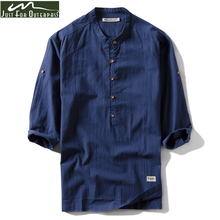 Alimens Gentle Mens Dress Shirt High Cotton Long Sleeve Easy Care Slim Fit Solid