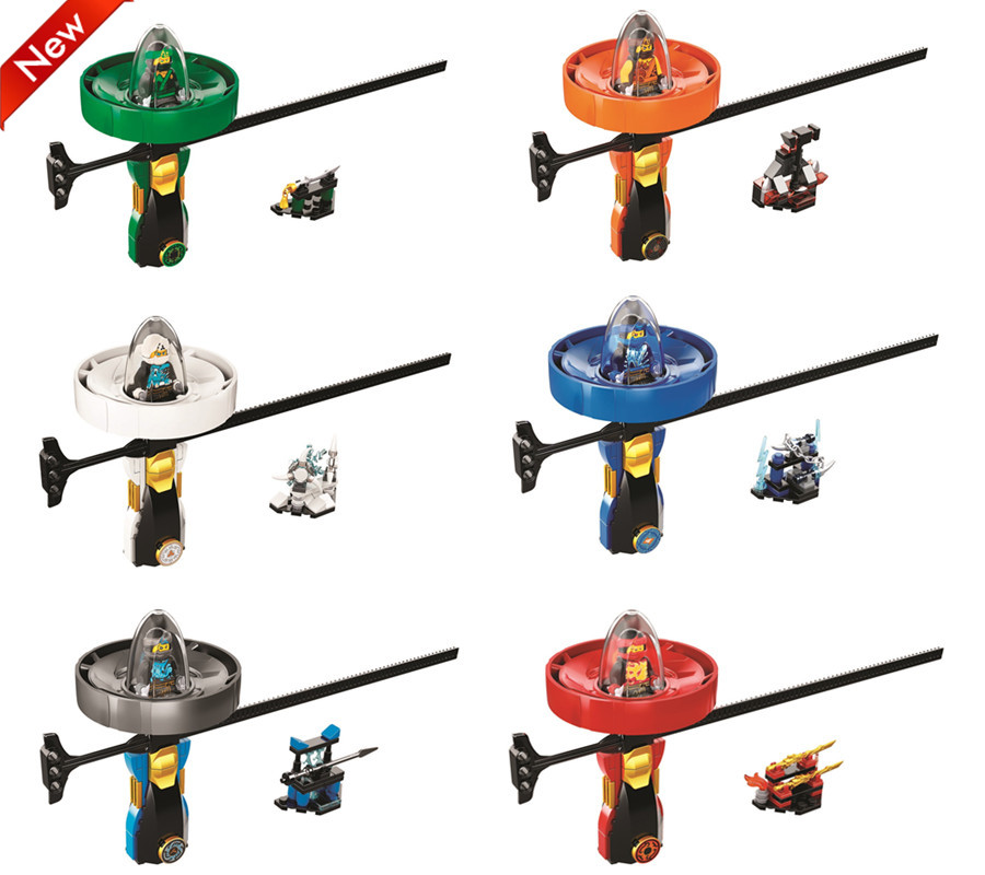 BELA Ninjagoed Super heroes Spinning flying Ninja beyblade Zane Cole Lloyd Action Figures Building Toys Compatible With Legoings [yamala] 15pcs lot compatible legoinglys ninjagoingly cole kai jay lloyd nya skylor zane pythor chen building blocks ninja toys