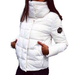 Autumn Winter Jacket Women Coat Fashion Female Down Jacket Women Parkas Casual Jackets Inverno Parka Wadded Clothing