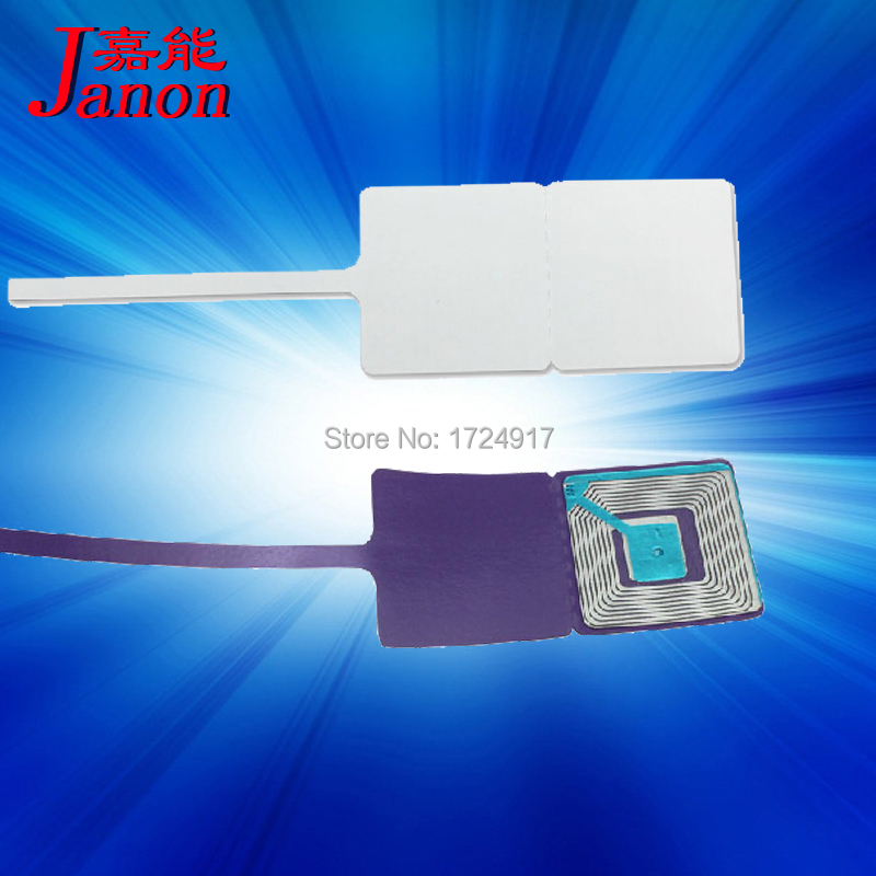 retail store jewelry tag label sunglass tag eas soft rf 8.2Mhz tag X500pcs