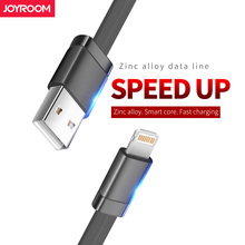 Joyroom USB Cable For iPhone 7 1.2m 1.8m ios fast Charger Cable For iPhone 7 6 6S 8 Plus 5 5S Mobile Phone Cables