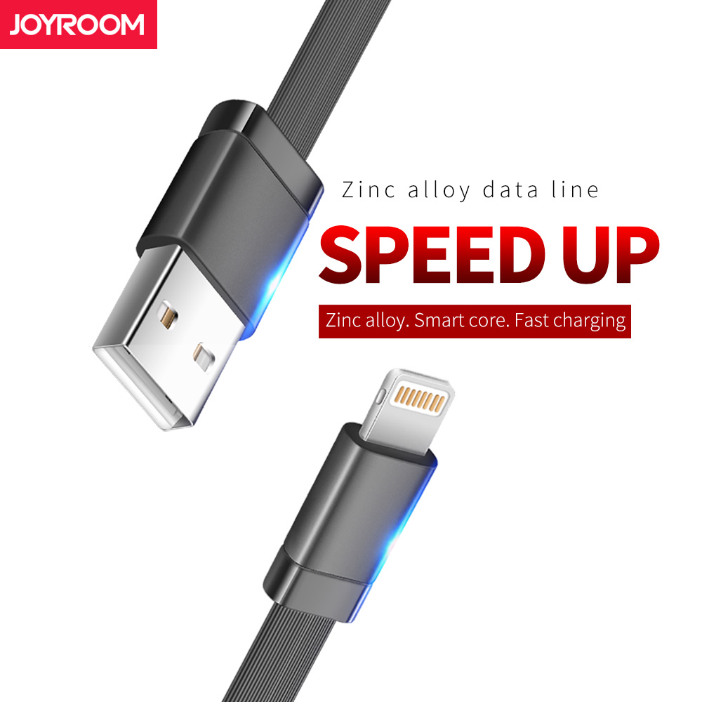 Joyroom Usb-kabel Für iPhone 7 1,2 mt 1,8 mt ios schnelle Ladekabel für iPhone 7 6 6 S 8 Plus 5 5 S Handy Kabel