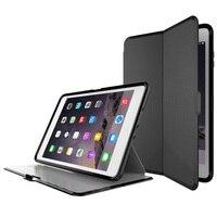 Para el iPhone de Apple Air2 caso silicona rejilla auto sleep/Awake cubierta de la resistencia de la gota para el iPad 6 aire 2 caja de la tableta de 9.7 pulgadas