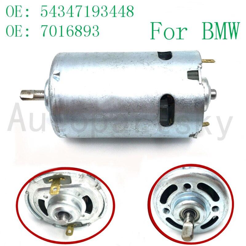 Livraison gratuite pour BMW E85 Z4 unité 2002-2008 Kit de réparation nouveau moteur de pompe OE #54347193448 7016893 54347119633