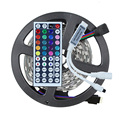 5M LED Strip Light 5050 RGB Non Waterproof 150Leds + Mini 44Key IR Remote Controller Flexible RGB LED Tape Ribbon Light