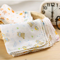 5PCS 25*25CM Soft Baby Towels Lovely Baby Bath Towel High Quality Baby New Infants YF-R36E