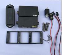 Bán buôn New guitar pickups EMG 81/85 H4/H4A, hoạt động pickups Cầu và Cổ Pickups Với 9 V pin Trong Kho
