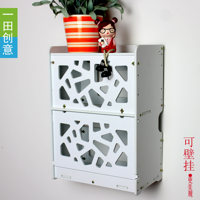 Creative Wall Cable Router Storage Box Socket Wire