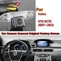 RCA и Оригинальный Экран Для Volvo V70 XC70 2007 ~ 2013 Автомобилей Заднего Вида Резервного Копирования Камера Заднего Вида с Камеры Автомобиля в Исходном автомобиля экрана
