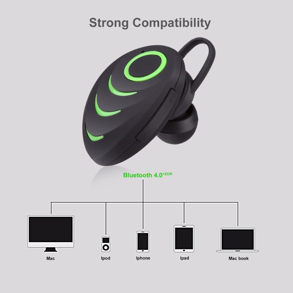 portable excelvan a3 wireless mini bluetooth headset. Black Bedroom Furniture Sets. Home Design Ideas