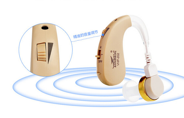 Hearing Aid Portable Small Invisible Best Sound Amplifier Adjustable Wireless Mini for old hearing AIDS aid left/right ear