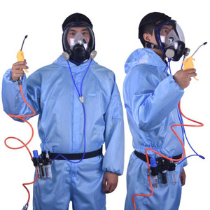 Image 2 - Chemcial Function Supplied Air Fed Safety Respirator System With 6800 Full Face Industry Gas Mask Respirator