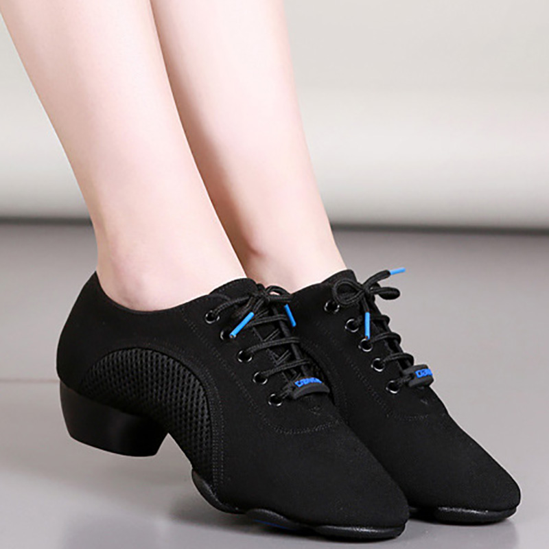 D2C Beauty Womens Mesh Jazz Soft Sole Dance Shoe Sport Sneakers