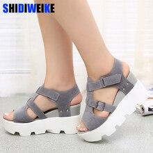Summer Sandals Shoes Women High Heel Casual Shoes