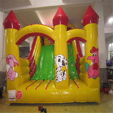 customized inflatable trampoline bouncer with blower YLW-175 inflatable playground cartoon toys