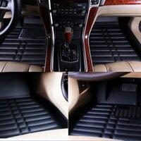 New 1 Set Black Car Floor Mats Floorliner Carpets Waterproof For Toyota Corolla 2014 2015 2016