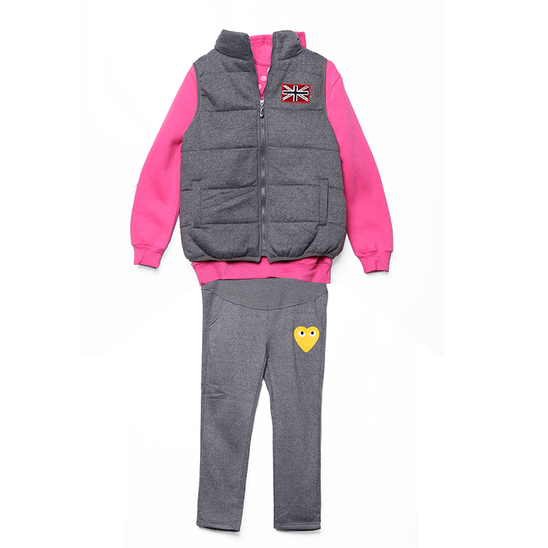 все цены на 3PCS Velvet Autumn Maternity Set Sports Suits Pregnant Clothing Leisure Hoodie + Vest + Pants for Pregnant Women Clothes C576